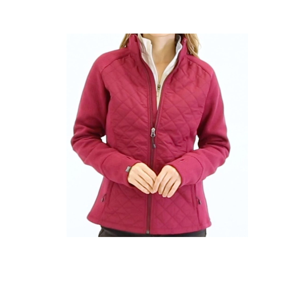 Women's Quilted Hybrid Jacket 2