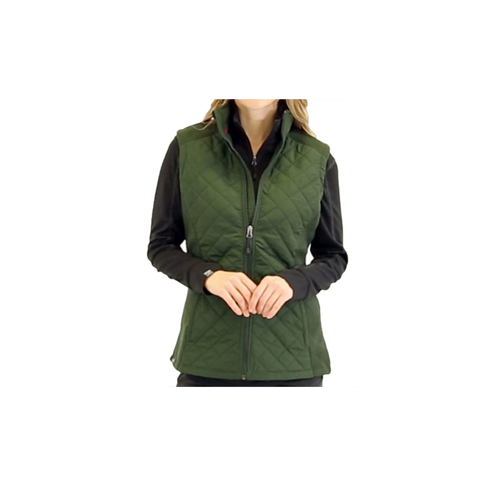Women's Quilted Hybrid Vest 4