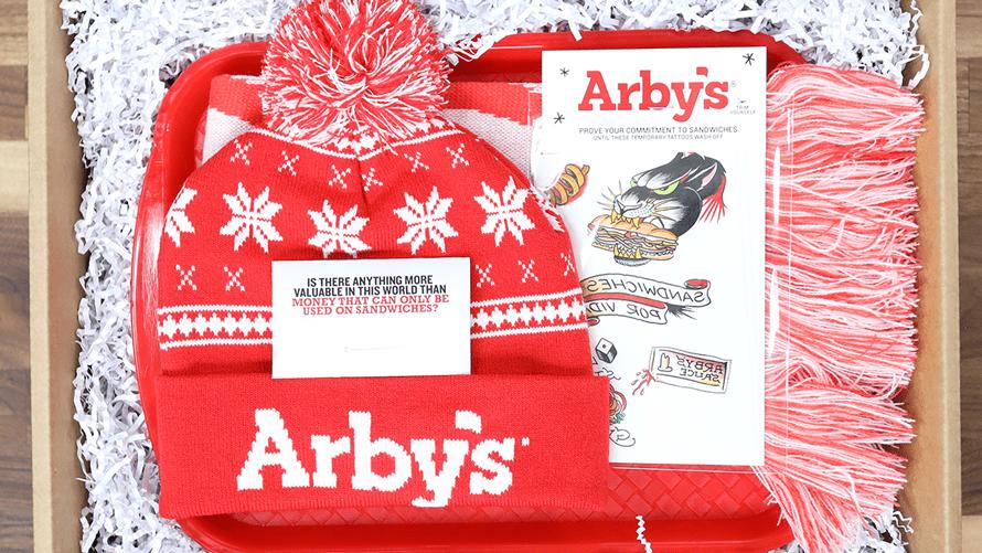 arbys subscription box